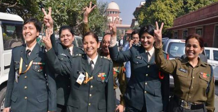 supreme court decides for permanent commission to women in army