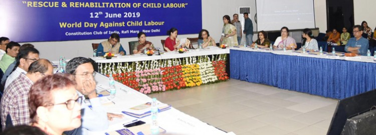 national consultation on rescue & rehabilitation of child labour