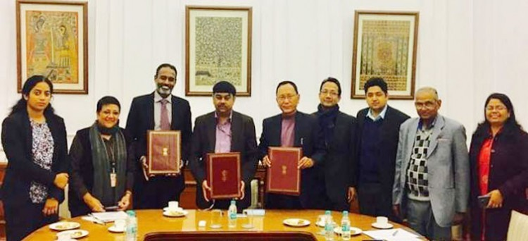agreement between center and uttarakhand government and world bank