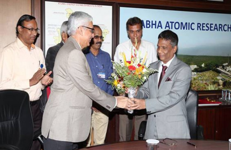 dr. ak mohanty took over the post of director of barc