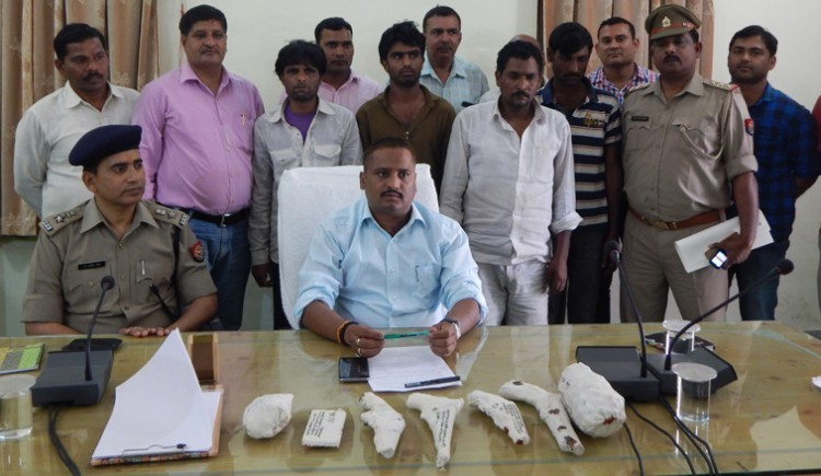 police busted in bijnor's gang