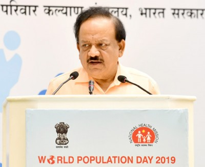 health and family welfare minister dr harshvardhan