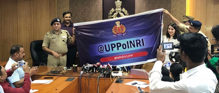 up police's twitter handle for nri