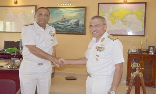 admiral sandeep bicha took charge of naval war college in goa