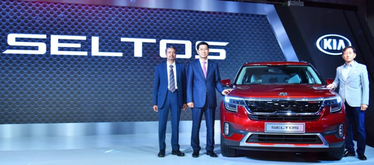 kia motors launches stylish 'seltos'