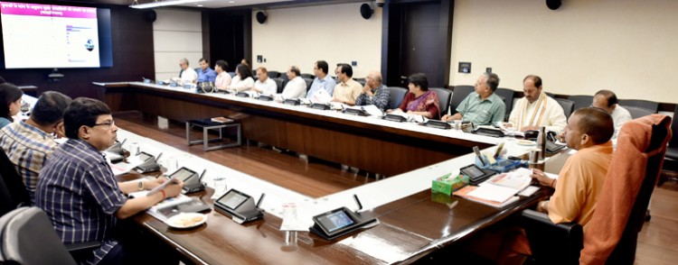 chief minister gave directions in the review meeting