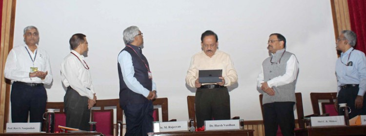 inauguration of emergency system warning system about air pollution in delhi