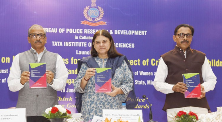 launching the book handbook on legal processes for police in respect of crime against children