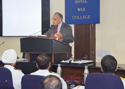 naval high command course started in naval war college goa