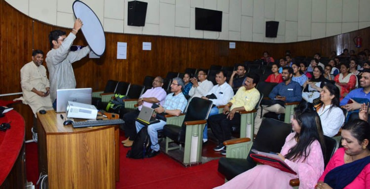 csir-nbri science communication and film production workshop in lucknow