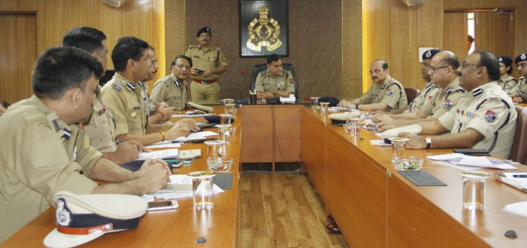 meeting of railway safety committee headed by dgp up