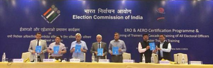 election commission, state level master trainers program