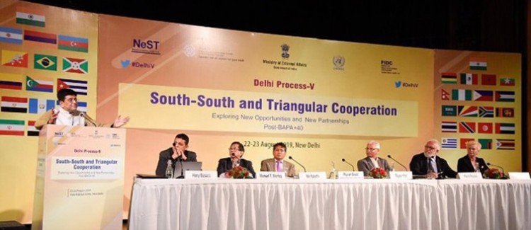 programme of south-south and triangular cooperation, in new delhi