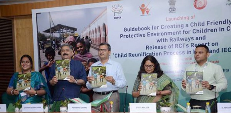 ashwani lohani launching the guidebook
