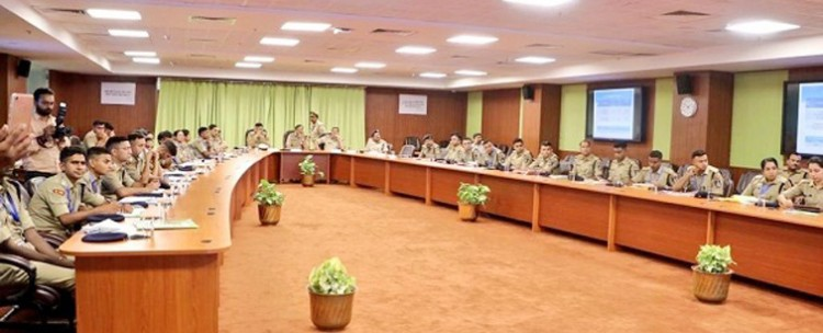 addressing trainee ips officers by dgp up