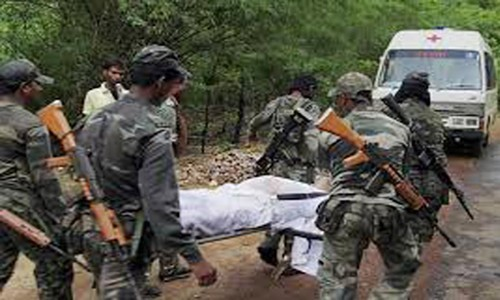 tragedy of left extremists on security forces in sukma district