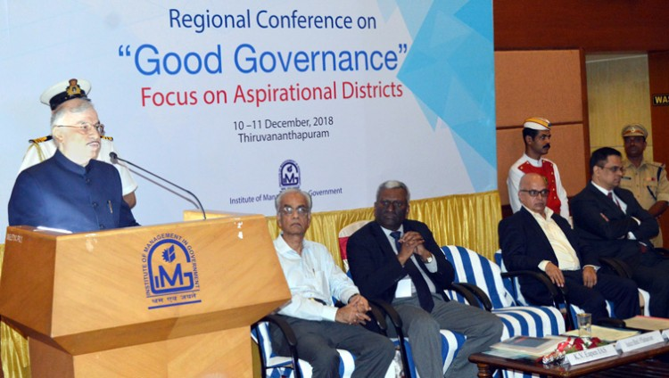 regional conference on good governance in thiruvananthapuram