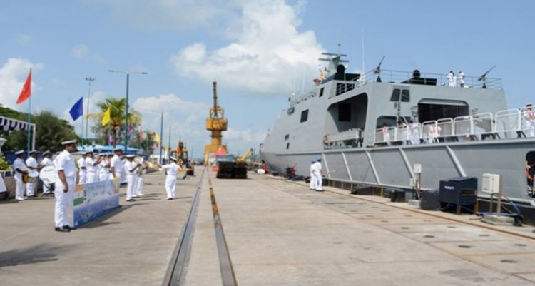 coordinated patrol of india and myanmar navies