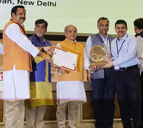 national award for development work in the villages of up