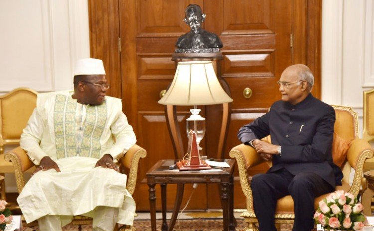 prime minister of the republic of guinea and president ramnath kovind
