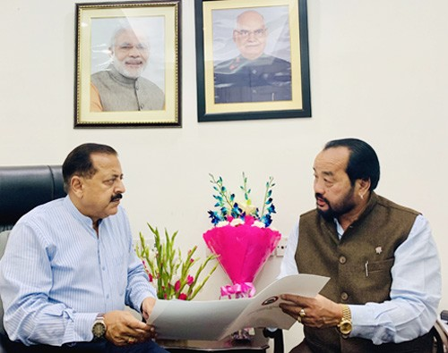 state minister jitendra singh and deputy chief minister of nagaland