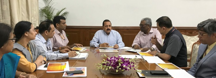meeting of officials of the department of administrative reforms and public grievances