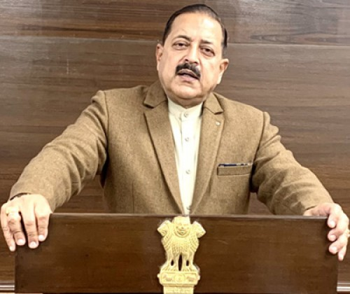 minister of state dr. jitendra singh