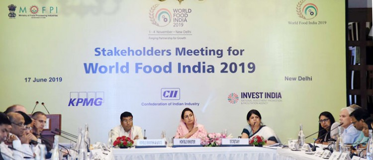 'world food india -2019' in delhi from november 1-4