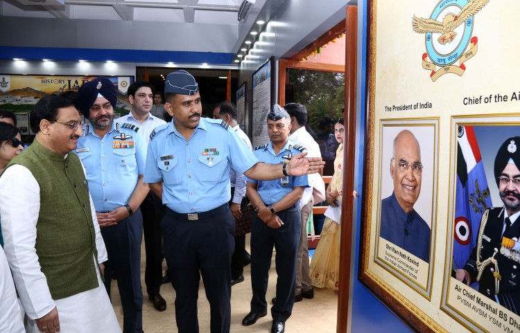 indian air force facilitation-cum- publicity pavilion