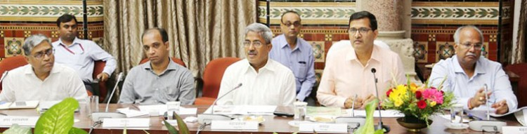chairman of railway board, branch managers of mumbai division, meeting